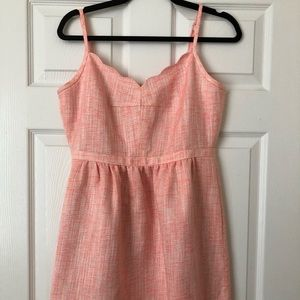 J. Crew Scallop neckline dress. Size 8